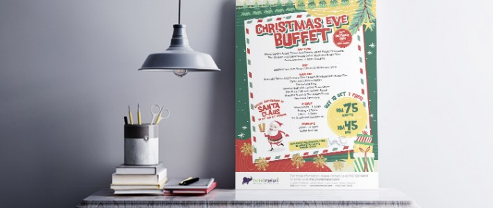 Christmas Eve Buffet Promotion